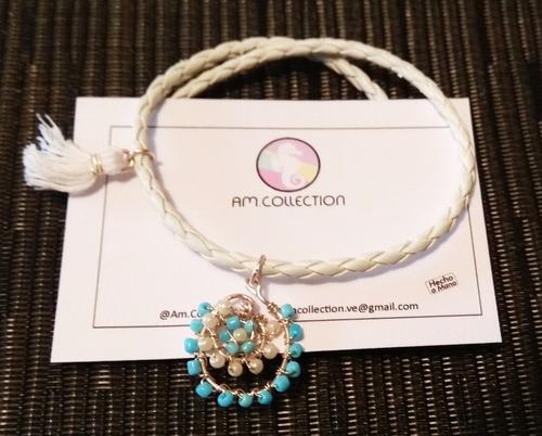 juego zarcillos /anillo opalos  bisuteria alambrismo moda