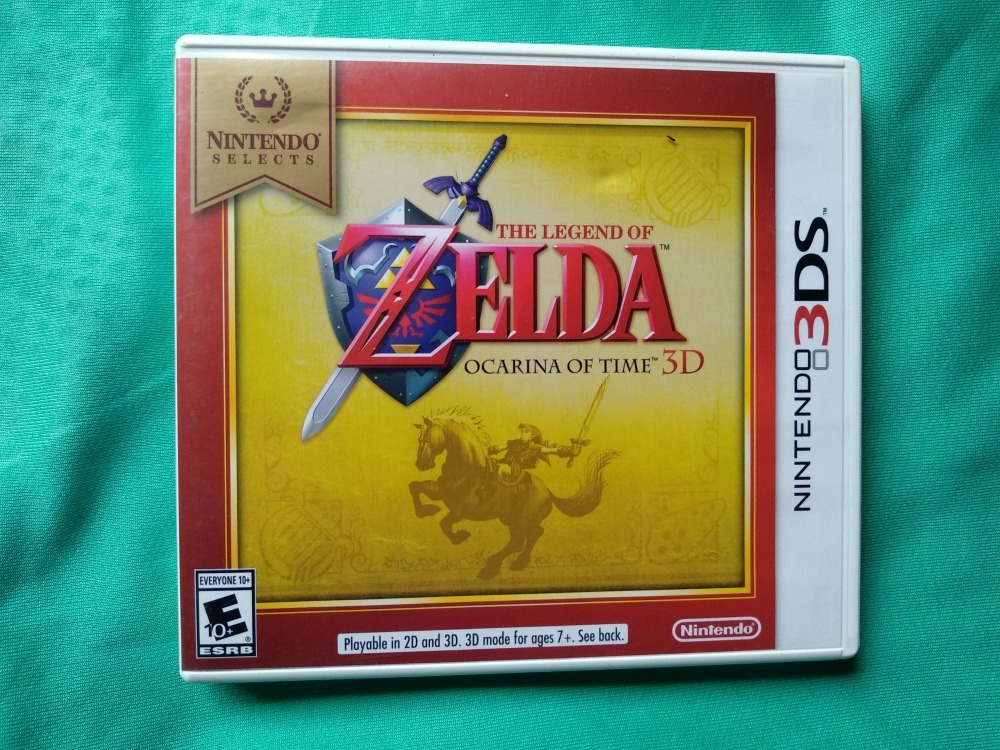 Juego Zelda Ocarina Of Time 3ds S 60 00 En Mercado Libre