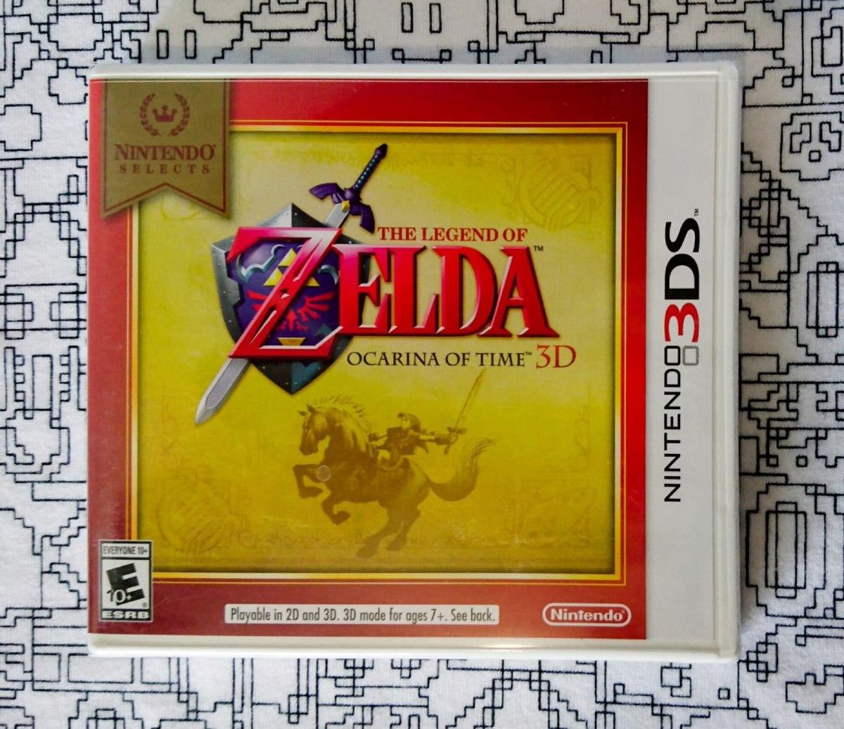 Juego Zelda Ocarina Of Time 3ds Nuevo Sellado 529 00 En Mercado