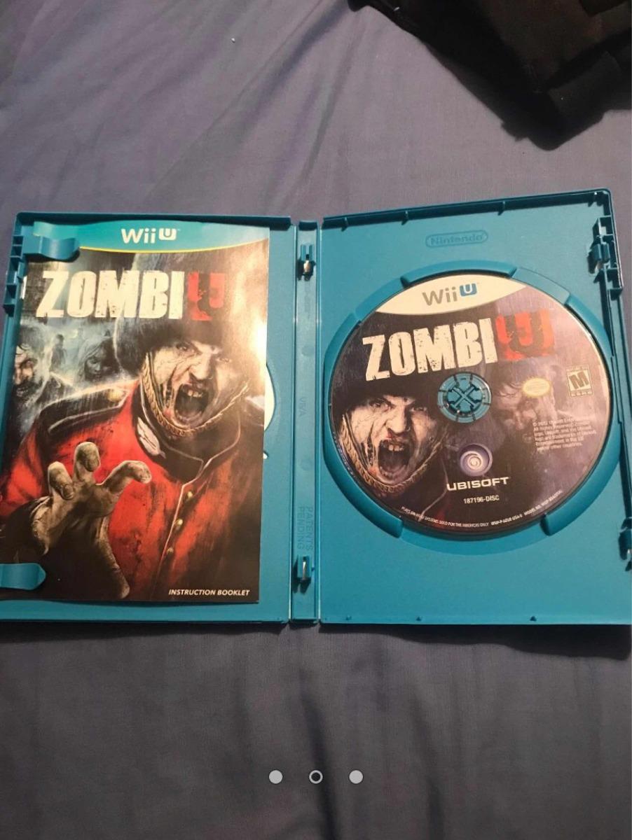 Juego Zombie U Para Wii U 300 00 En Mercado Libre