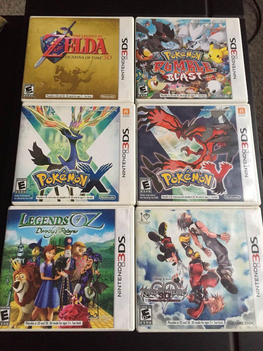Juegos 3ds Zelda Pokemon U S 25 00 En Mercado Libre