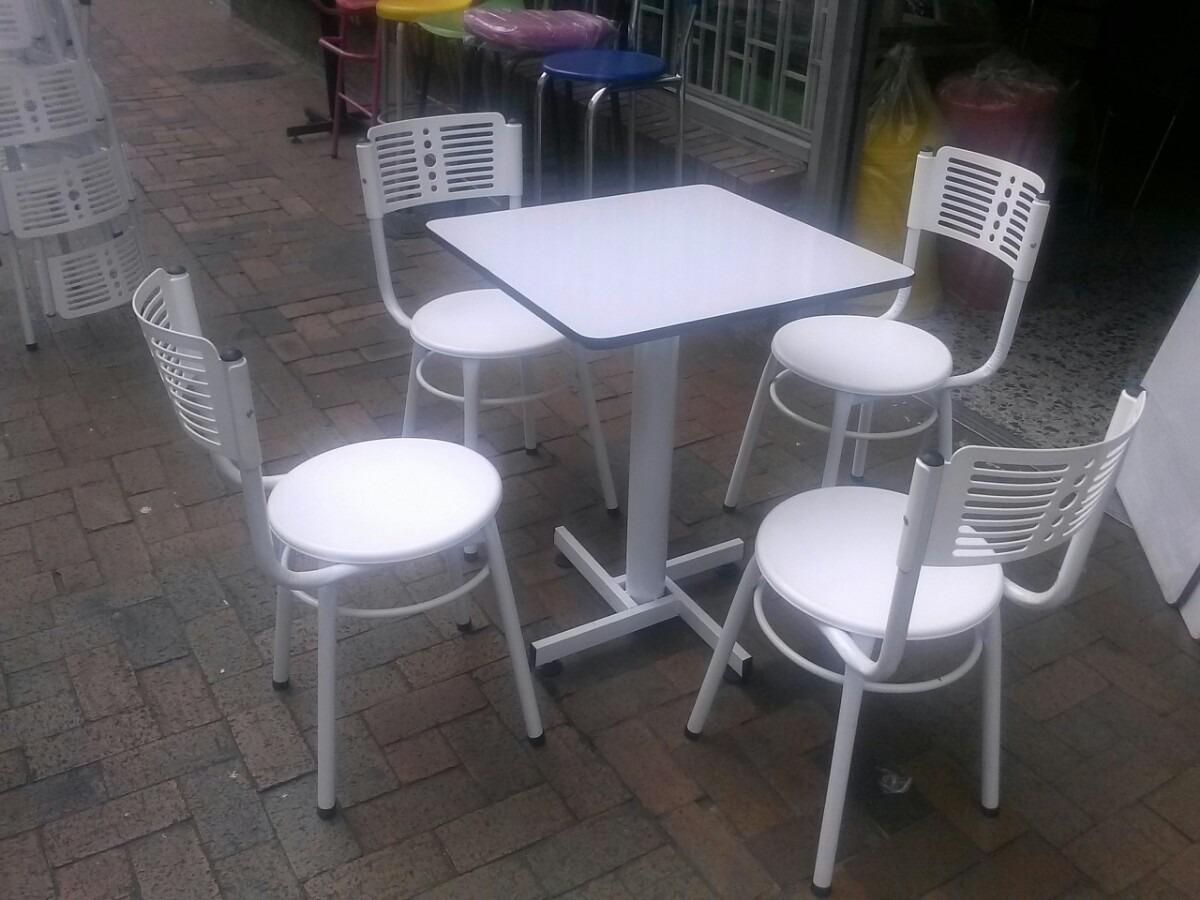 Juegos 4 sillas karla y mesa madera para restaurante bar for Mercado libre mesas y sillas