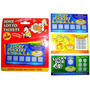 Fake Lottery Ticket - 3x Scratch Card Lotto Santa Secreto