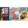 Mega Clásico Juego Super Mario Bros 1, 2 Y 3 Para Tu Pc