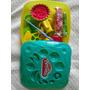 Juego Play Doh Frutas-plastilina Solo Abierto