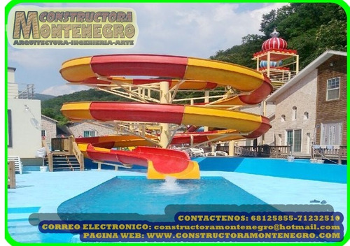 juegos acuaticos para balnearios