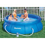 Espectacular Piscina Inflable Bestway 4m X 1 M Y Manguera