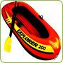 Bote Inflable Explorer 200 Con Remos Y Bomba Excelente Calid