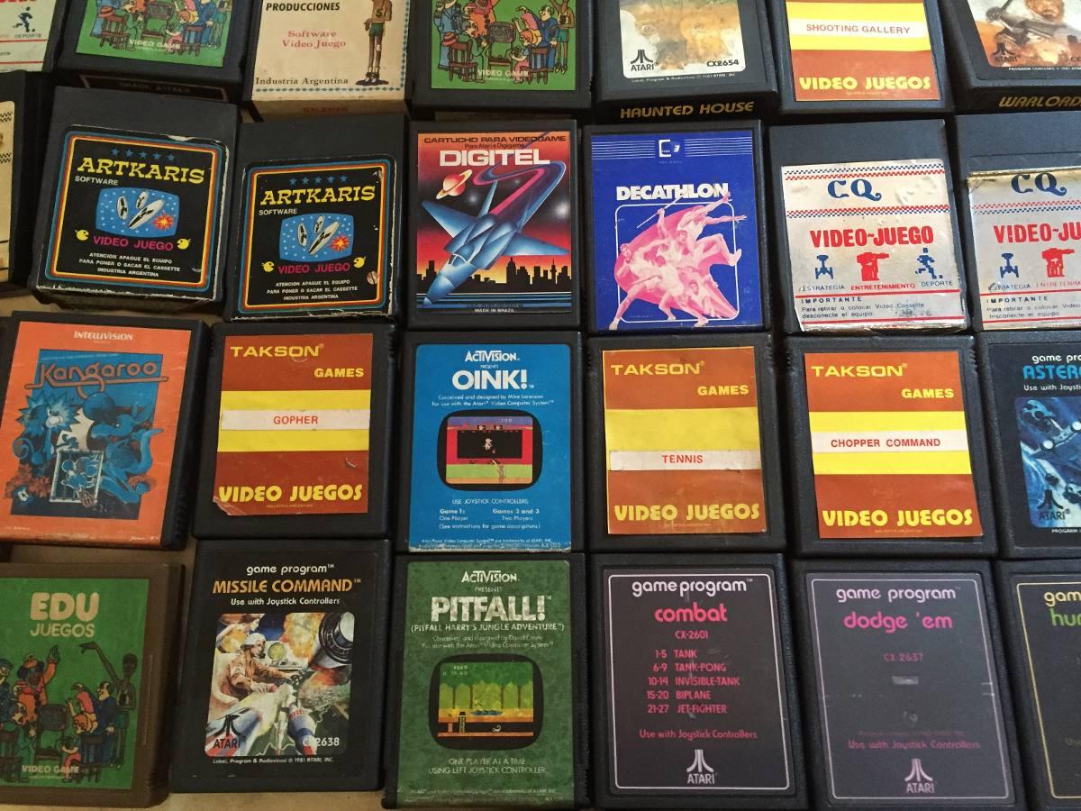 Juegos Para Atari 2600 Coleccion De 34 Juegos 9 600 00 En