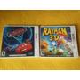 Juegos 3ds Cars 2 + Rayman 3d Super Oferta X Ambos!!