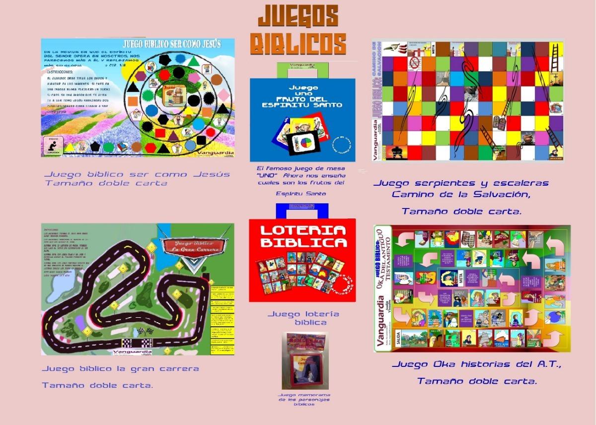 Juegos Biblicos Coleccion 280 00 En Mercado Libre