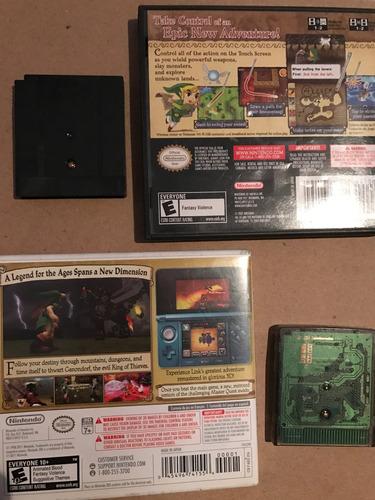 juegos colección zelda ocarina phantom oracle of ages dx