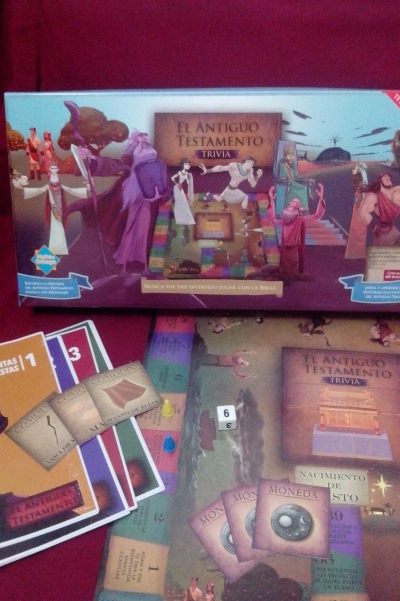 Juegos Cristianos Antiguo Testamento Trivia 490 00 En Mercado Libre