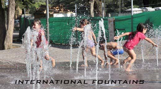 juegos de agua para nios fuentes danzantes