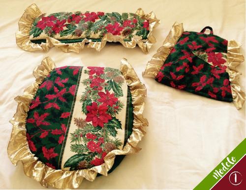 juegos de baño lenceria decorativa acolchados - por encargo