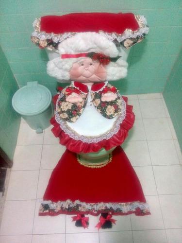 juegos de baño navideño decorativo