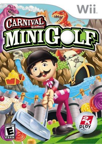 juegos de carnaval minigolf  nintendo wii