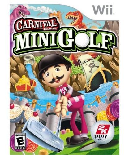 juegos de carnaval: minigolf - nintendo wii