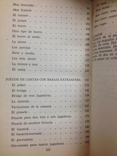 juegos de cartas y azar - j. repollés - ed. bruguera - 1980