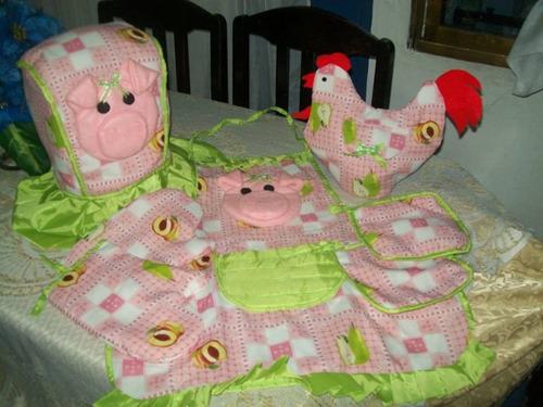 Juegos de cocina lenceria   bs. 20,00 en mercado libre