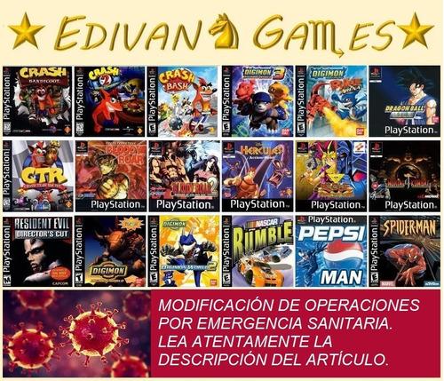 juegos de colección play station 1 (ps1, psx, play 1)