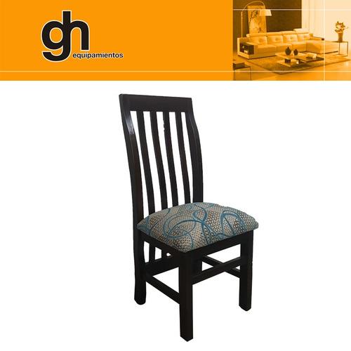 juegos de comedor , mesa y sillas tapizadas gh