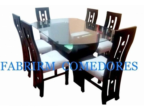 juegos de comedores de 6 sillas  madera tornillo 899 soles!!
