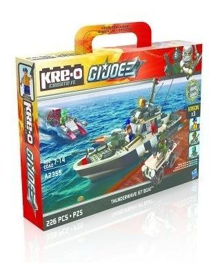 juegos de construcción,kre-o gi joe thunderwave jet boat..
