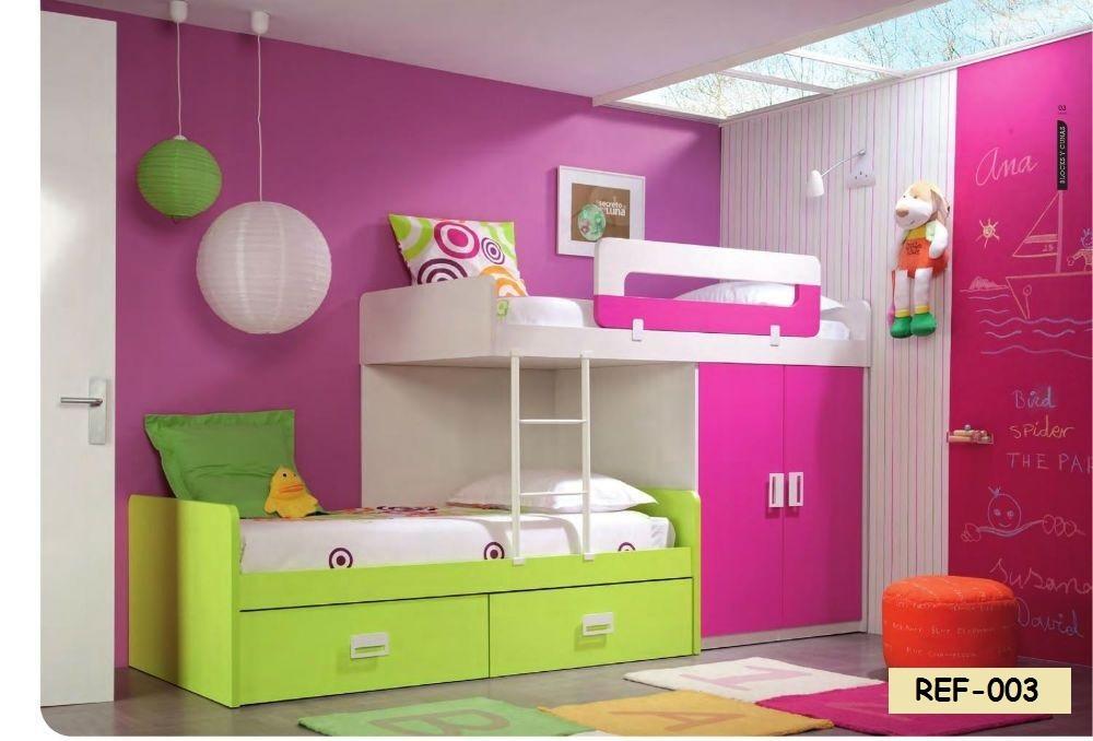 Juegos de dormitorios literas modulares bs 0 60 en mercado libre - Dormitorios infantiles modernos ...