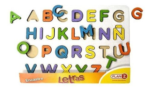 juegos de encastre abecedario madera didactico cuotas