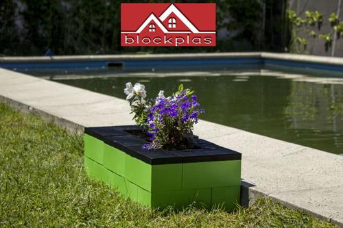 juegos de encastre ladrillos bloques gigantes 2 modulos