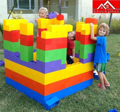 juegos de encastre ladrillos bloques gigantes tapa