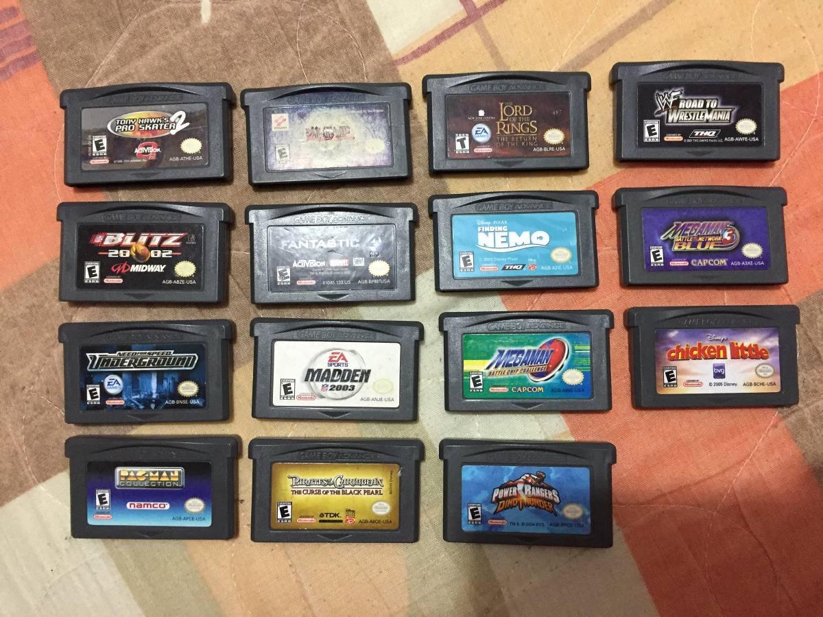 Juegos De Gameboy Advance 8 000 00 En Mercado Libre