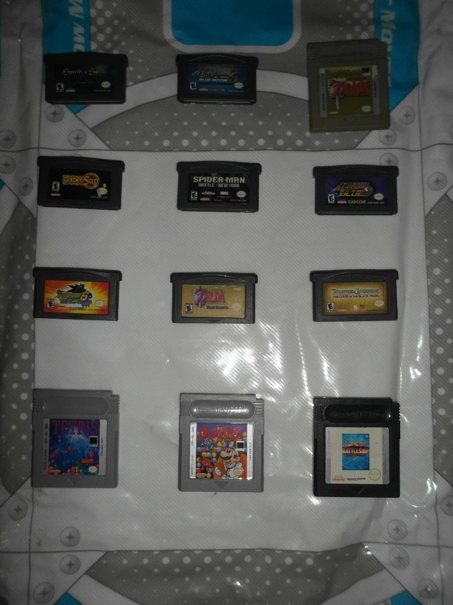 Juegos De Gameboy Advance Zelda Megaman Diferentes Precios