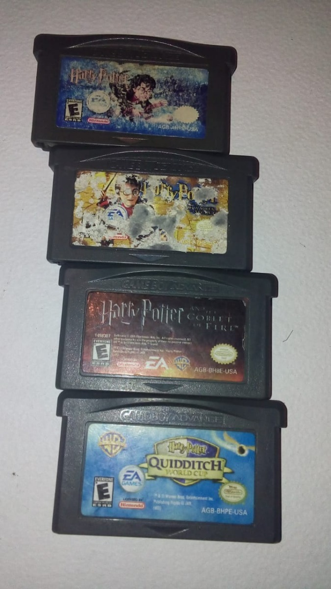 Juegos De Harry Potter Gba 700 00 En Mercado Libre
