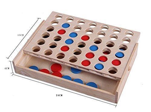 juegos de madera tablero de viaje juego de mesa plegable ...
