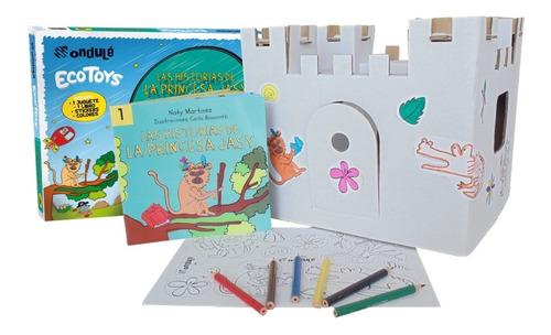 juegos de manualidades ondulé con libro para armar y pintar