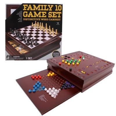 Juegos De Mesa 10 En 1 Kit De Madera Envio Gratis 529 90 En