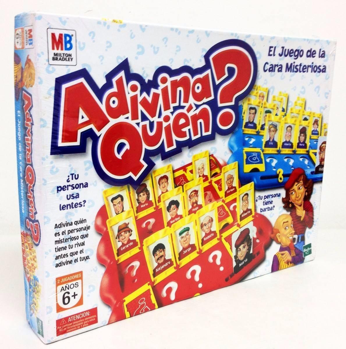 Juegos De Mesa Adivina Quien Es Original De Hasbro Espanol Bs