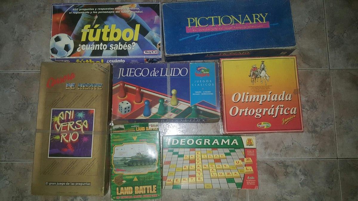Juegos De Mesa Antiguos Lote Coleccionistas 1 000 00 En
