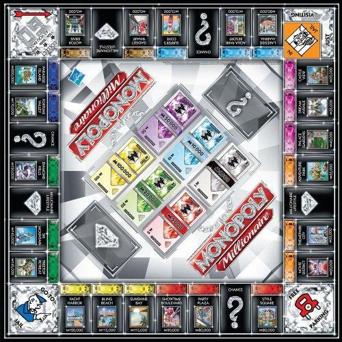 Juegos De Mesa Hasbro Monopoly Millonario 182 599 En Mercado Libre