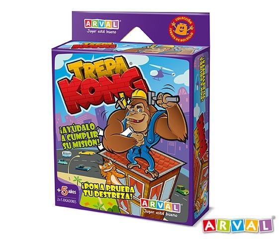 Juegos De Mesa Infantiles Trepa Kong Arval 119 99 En Mercado Libre