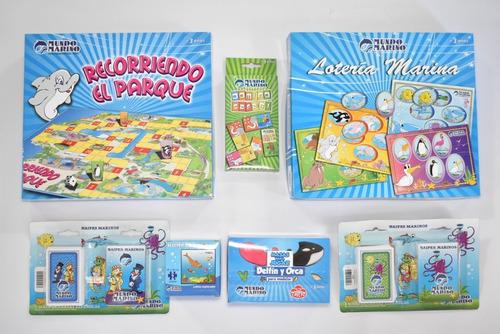 juegos de mesa kits completo rompecabezas y mas mundo marino