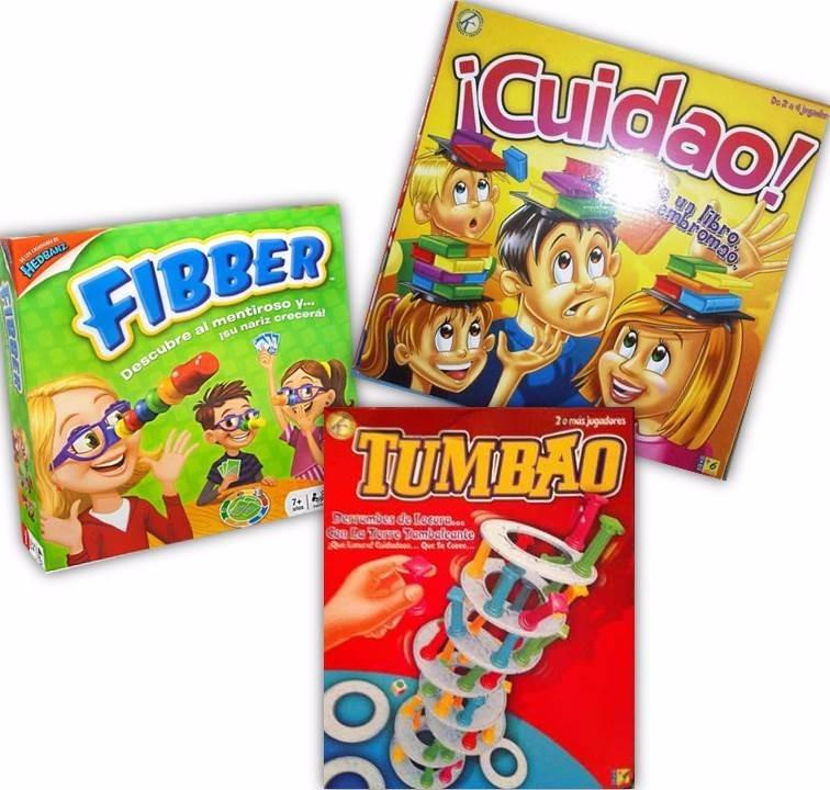 Juegos De Mesa Kreisel Tumbao Cuidao Fibber Bs 45 00 En Mercado Libre