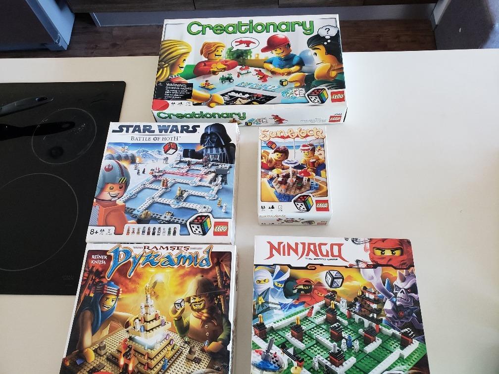 Juegos De Mesa Lego Variados 18 000 00 En Mercado Libre