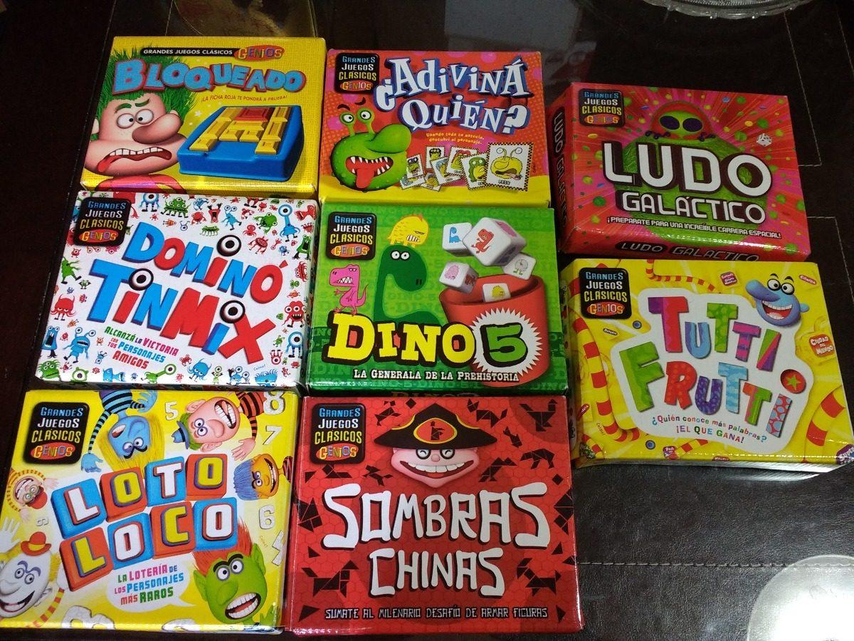 Juegos De Mesa Revista Genios 2 X 90 90 00 En Mercado Libre