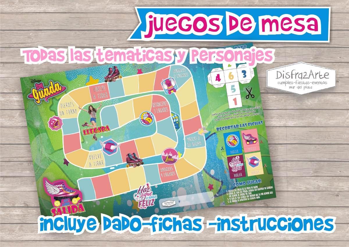 Juegos De Mesa Soy Luna Personalizado Tablero X 10 Uds 390 00 En