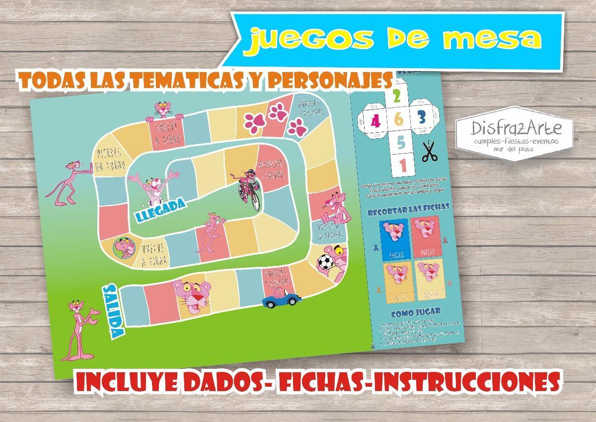 Juegos De Mesa Tablero X 10 Uds Personalizados 390 00 En Mercado