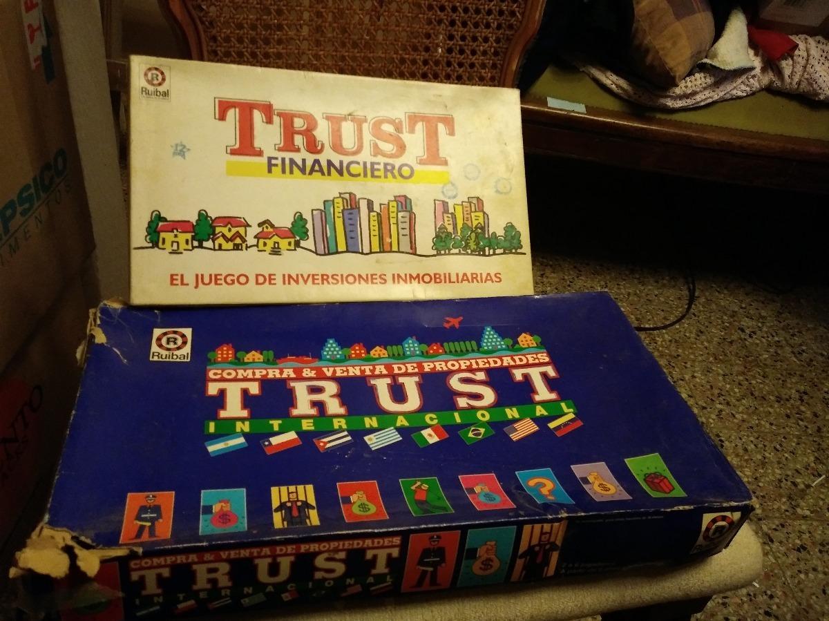 Juegos De Mesa Varios Trust Y Trust Internacional 800 00 En