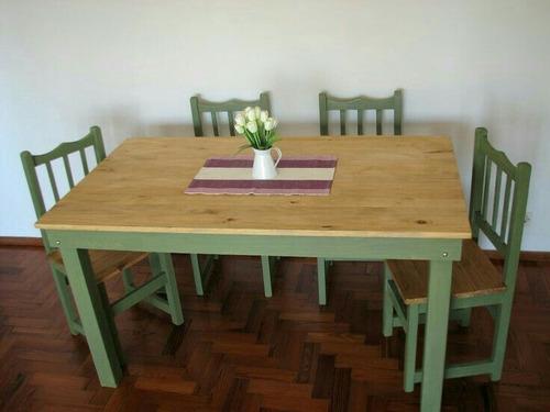 juegos de mesa y sillas